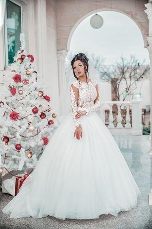 Свадебное платье 4500 грн.