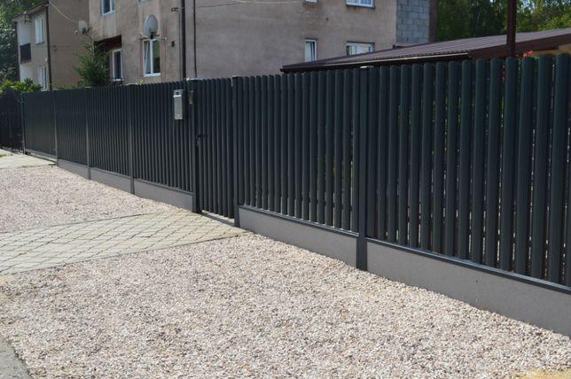 SZTACHETA METALOWA sztachetki ogrodzenie 11CM POZ