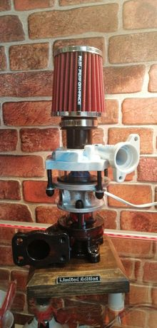 Lampka z turbiny turbo lampka
