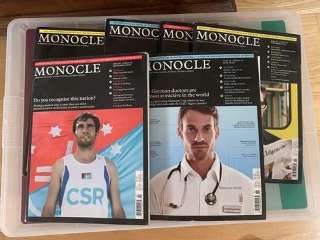 Revista Monocle (design, cultura) primeiros números