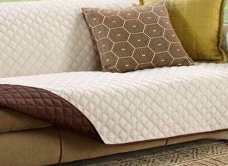 Protetor de sofá para 3 lugares reversível