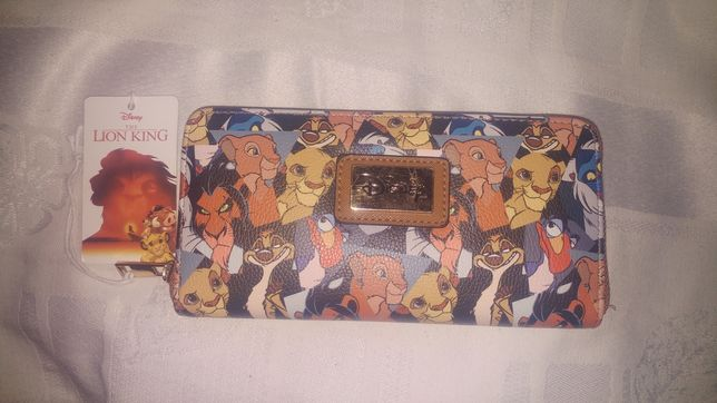 Przepiękna portmonetka damska Disney Lion King cena w sklepie 170 zł