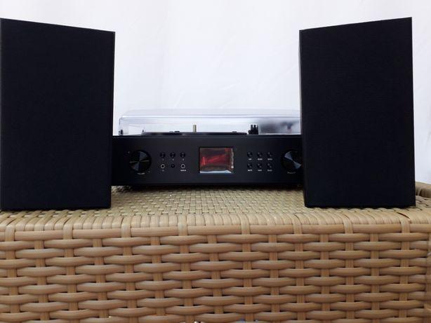 Auna Connect Vinyl Gramofon Internet FM CD D36-256