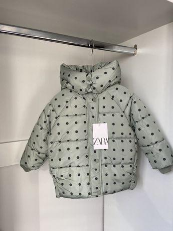 Куртка zara 86 92см