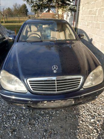 Mercedes w220 320 cdi na czesci 2002 rok