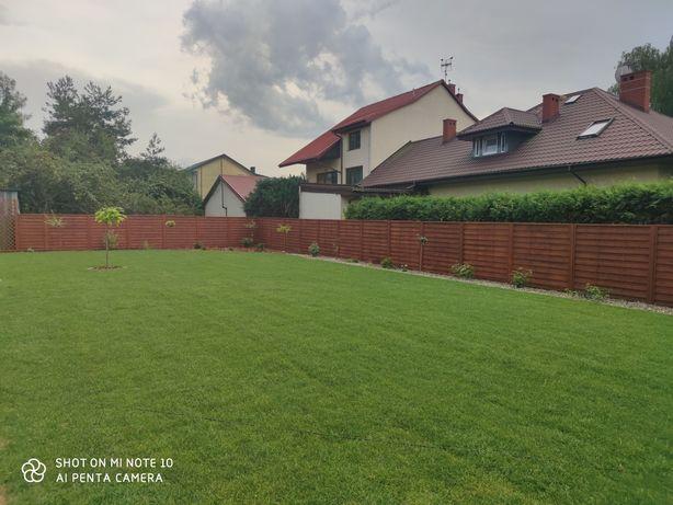 Trawnik z rolki - trawa rolowana - trawnik siany
