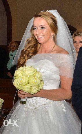 Sukienka do ślubu - królewna