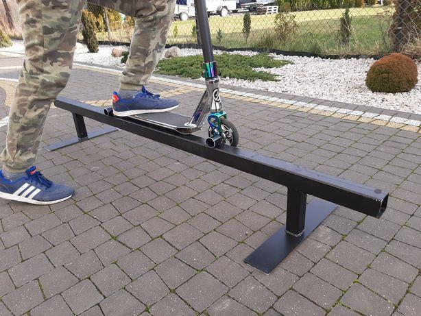 Poręcz, rurka skateboardowa do grindowania i slajdowania