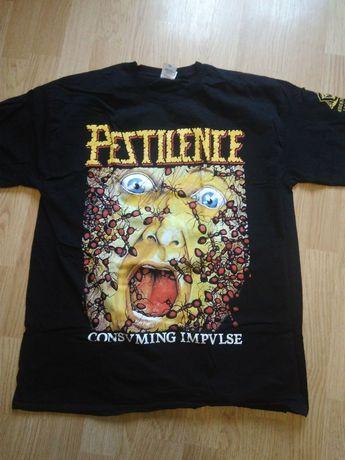 Футболка мерч Pestilence death metal