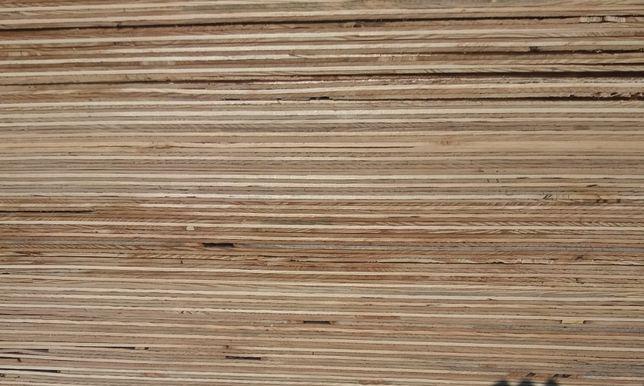 Sklejka Iglasta surowa WD gruboogłogowana kl. 3/4 24 mm 2500x1250