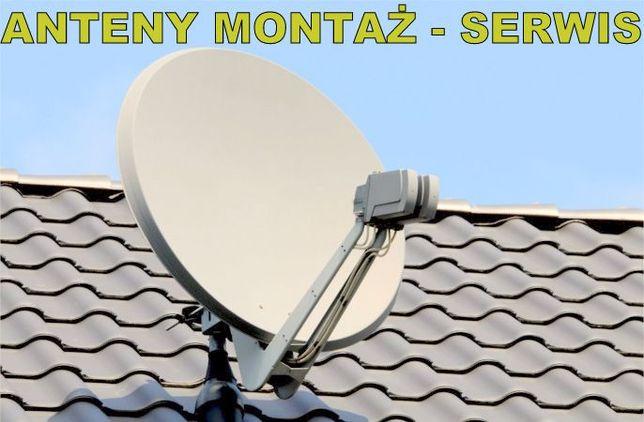 Montaż, ustawienie anteny Satelitarnej POLSAT NC+ itp - Serwis