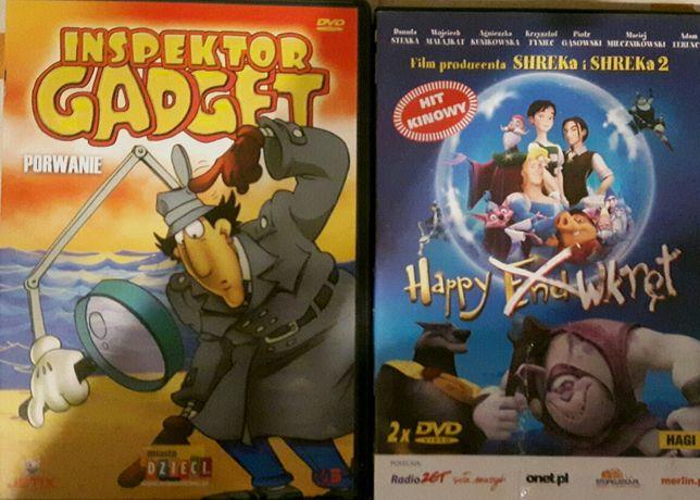 Bajki DVD, 10 sztuk.
