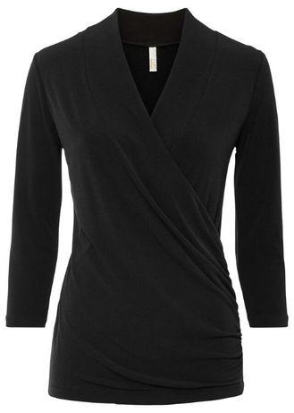 NOWY czarny shirt Bonprix BODYFLIRT boutique