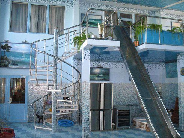 Отбойники,фермовые конструкции,лестницы в бассейн,козырьки,балконы