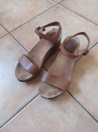 Sandały skórzane Venezia