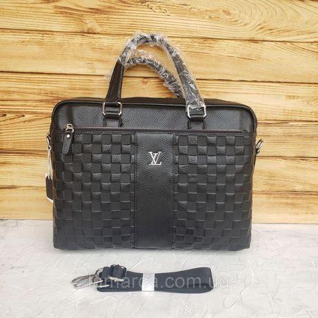 Мужской деловой портфель для документов сумка Louis Vuitton LV
