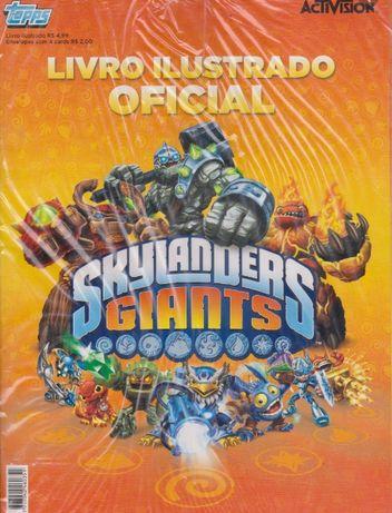 Cartas Album Skylanders Giants 2012 Activison Topps