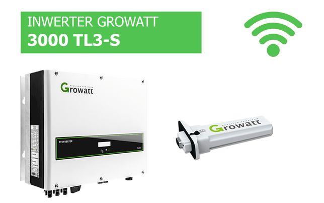 Falownik Growatt 3000 TL3-S WiFi Inwerter cena brutto