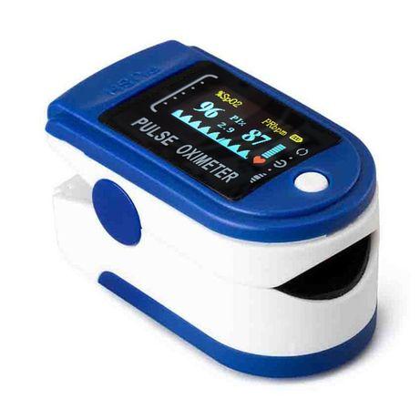 Pulsoksymetr Fingertip OLED napalcowy pomiar tętna