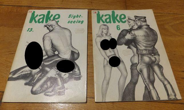 Komiks KAKE nr. 6 i nr. 13 lata 70 Tom of Finland gej retro