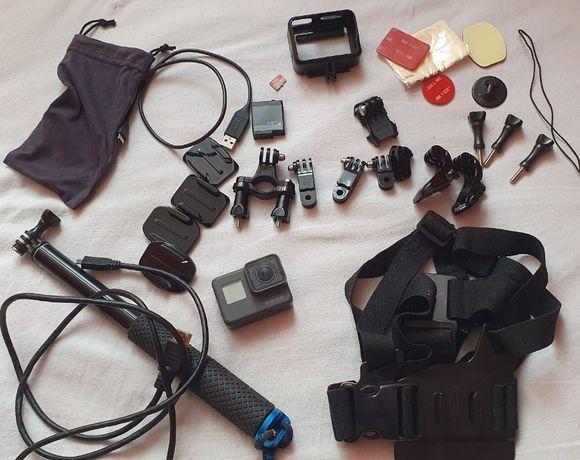 kamerka GoPro Hero 5 Black + karta 64g extreme + dużo gadżetów