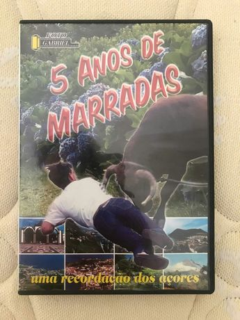 Filme DVD 5 Anos de Marradas 2001-05
