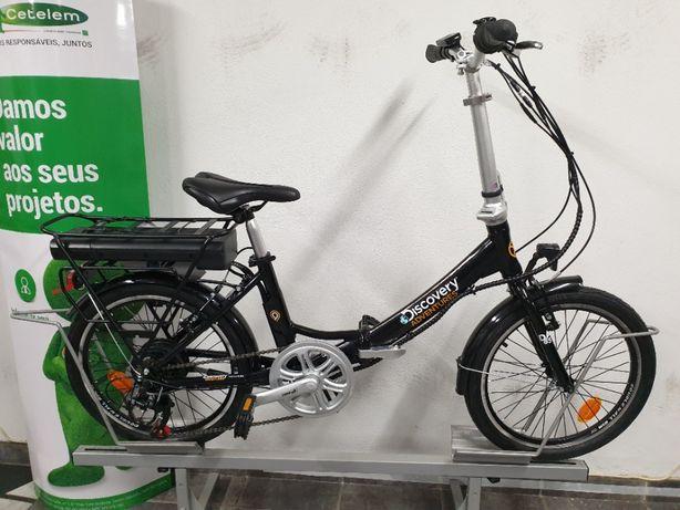 """E-Bike Desdobrável Discovery Adventurs 20"""" NOVA"""