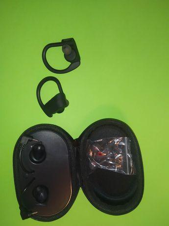 Słuchawki bezprzewodowe Swietnie trzymają sie ucha wbudowany akumulato
