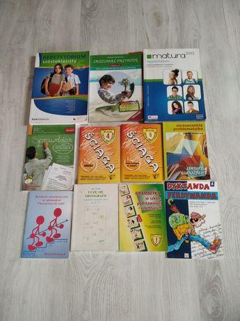 Książki rozne do nauki i czytania