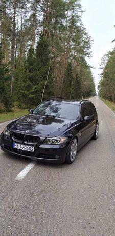 BMW E91 2.0d 2007r 163 km automat skóra panorama