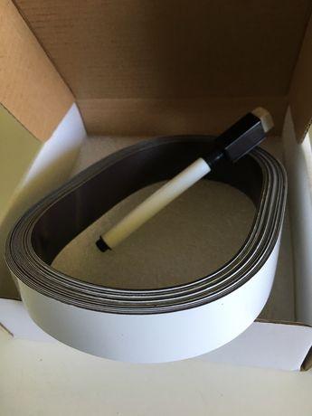 Стрічка магнітна маркірувальна Лента магнитная маркировочная 25мм*7,5м