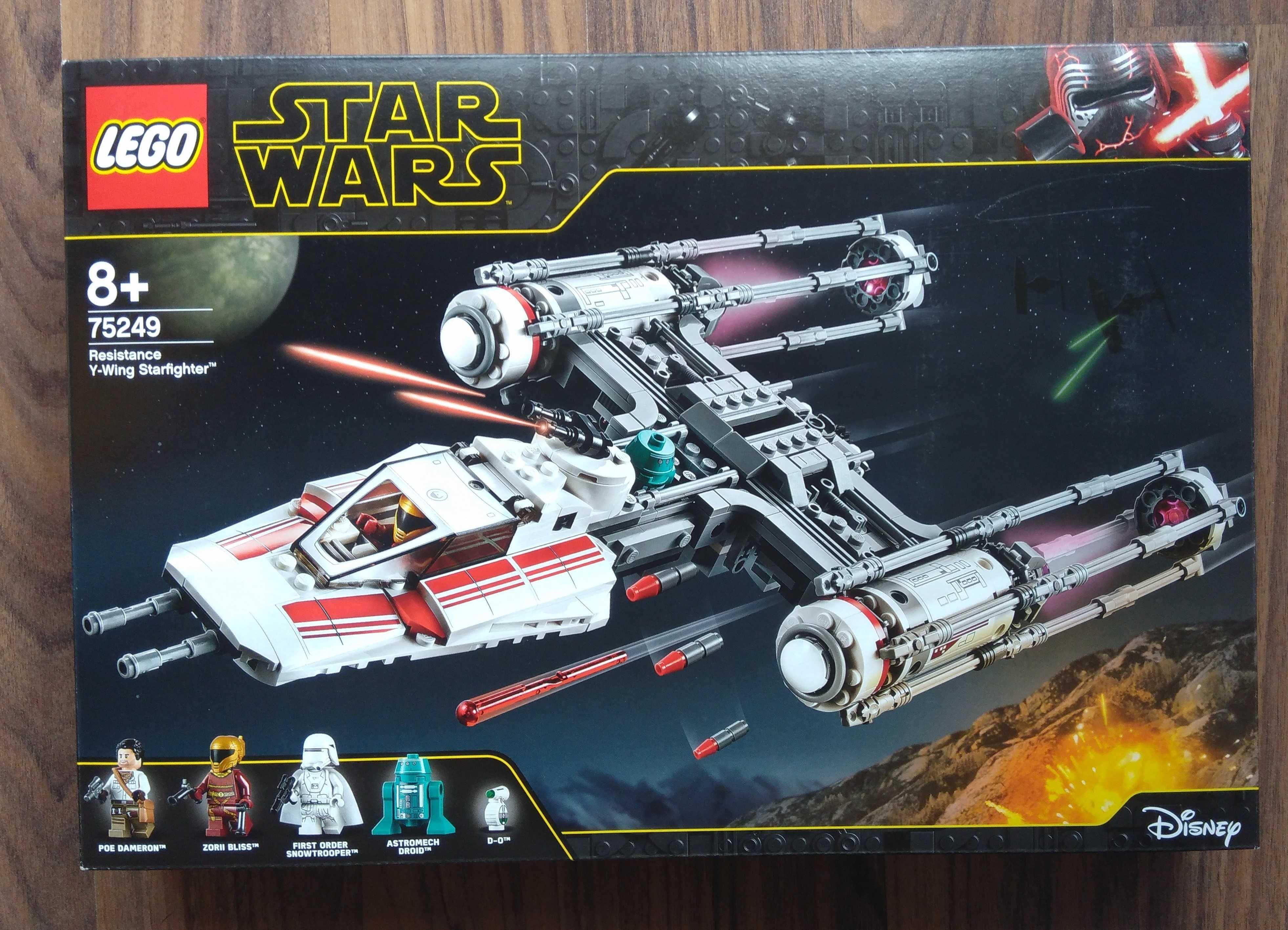LEGO Star Wars 75249 Y-Wing Starfighter da Resistência (NOVO E SELADO)