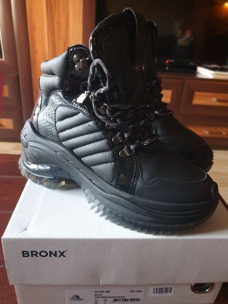 Sneakersy Bronx stan idealny