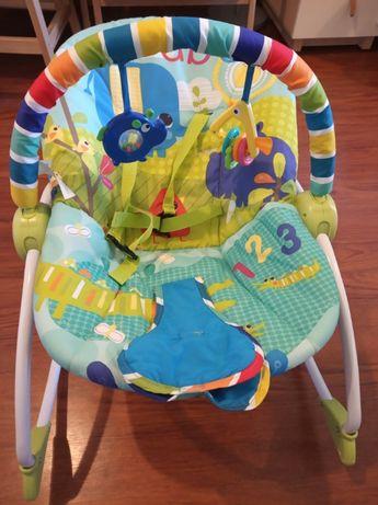 Leżaczek bujak wibrujący KIDS II