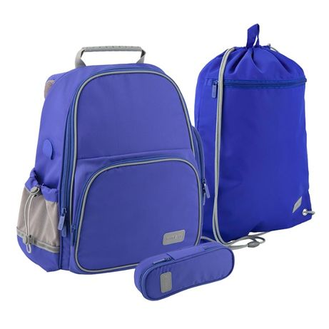 SET_в 1класс школьный Smart рюкзак+пенал+сумка 3в1 для мальчика KITE