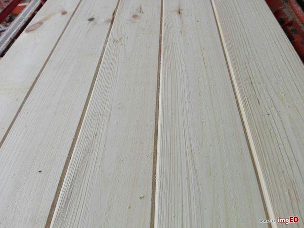 Podbitka sosnowa 19 mm suszona szlifowana profil faza szalówka pióro