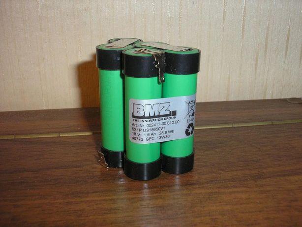 Сборка аккумуляторная высокотоковая Sony 18 В /1600mAh/15А