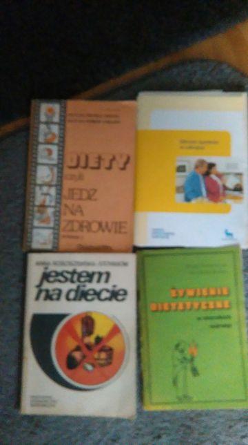 Sprzedam książki tematy medyczne- diety