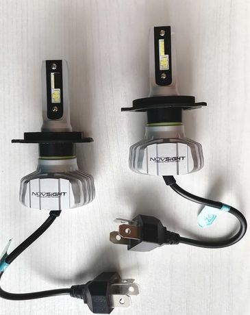 Светодиодные лампы H4 12V главный свет 50 W/10000 L/пара ГАРАНТИЯ