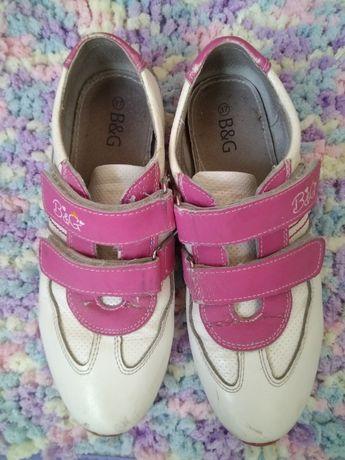 кожаные кроссовки на девочку туфли обувь