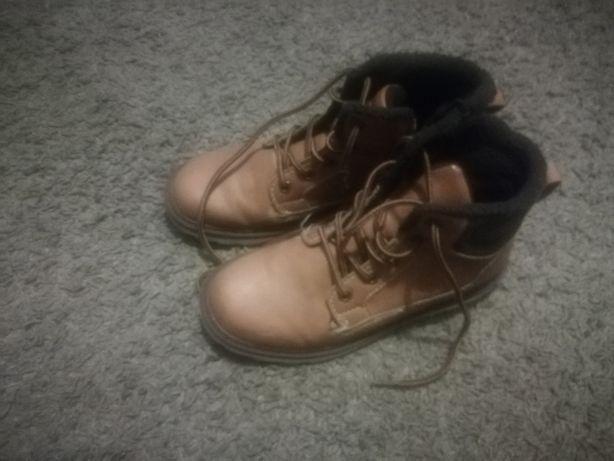 Buty ocieplane chłopięce 34!