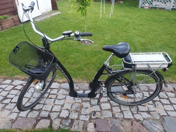 Rower elektryczny Code E-bike 3000+ rama typu łabędź