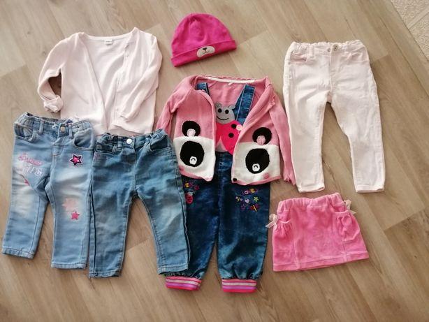 Пакет одежды, джинсы, юбочка, штани, джинсовый комбенизон