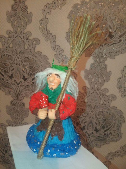 Бабка Ёжка из ваты Кременчуг - изображение 1