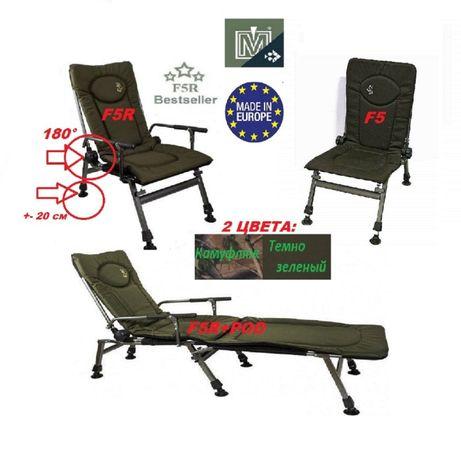 Кресло для рыбалки карповое раскладное F5 F5R POD Elektrostatyk Польша