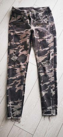 Spodnie Zara moro 36
