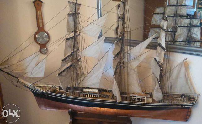 Statek Cutty Sark, wierna kopia, kliper herbaciany