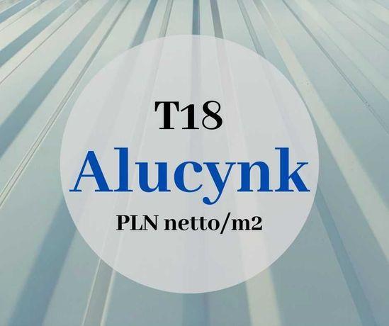 Blacha trapezowa dachowa aluocynk alucynk blachy dachowe trapezowe T18