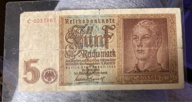 Banknot niemiecki dla kolekcjonera