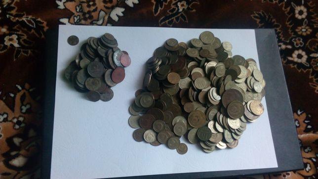 Монеты СССР (660 штук)
